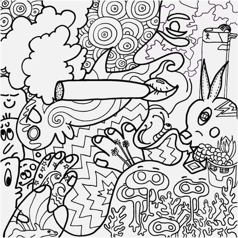 Alice In Wonderland Stoner Trippy Coloring Pages - Dejanato
