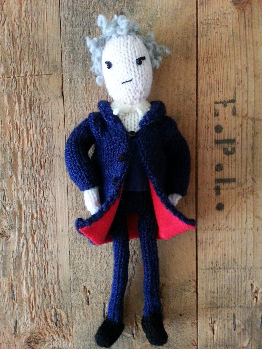 Knit for victory peter capaldi as doctor who knitted doll knit for victory peter capaldi as doctor who knitted doll pattern bankloansurffo Image collections