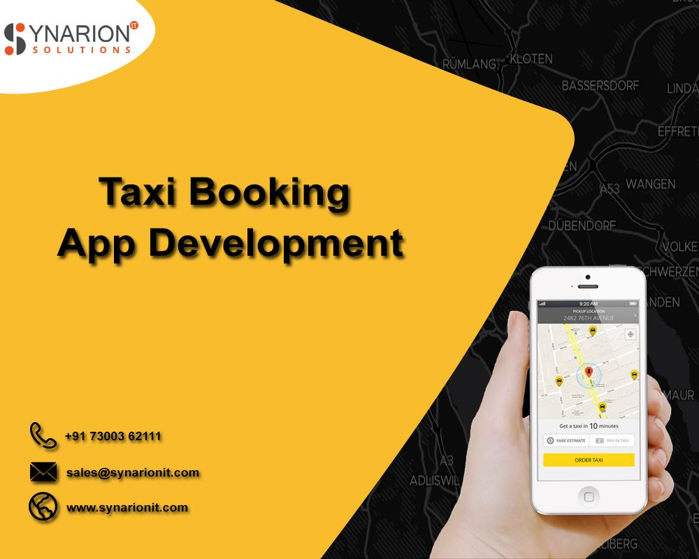 Synarion It Is The Leading Taxi Booking App Development Company