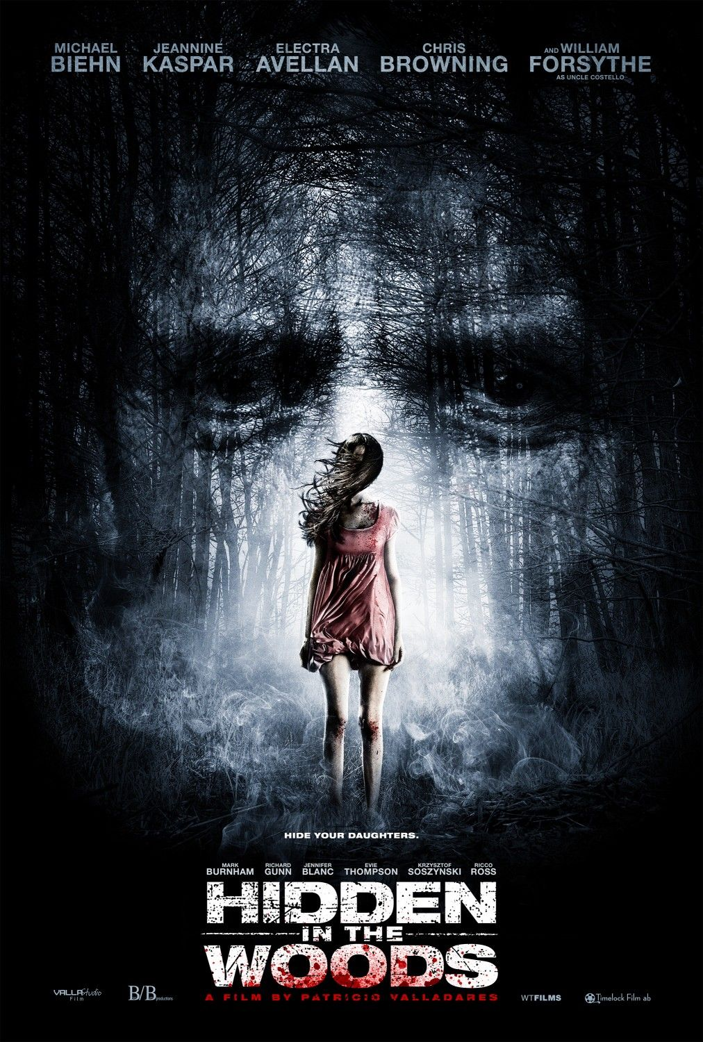 Extra Large Movie Poster Image For Hidden In The Woods Filmposter Chucky