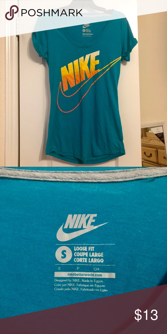 migliore all'ingrosso online vendita economica Nike shirt, loose fit Nike t-shirt, like new Nike Tops Tees ...