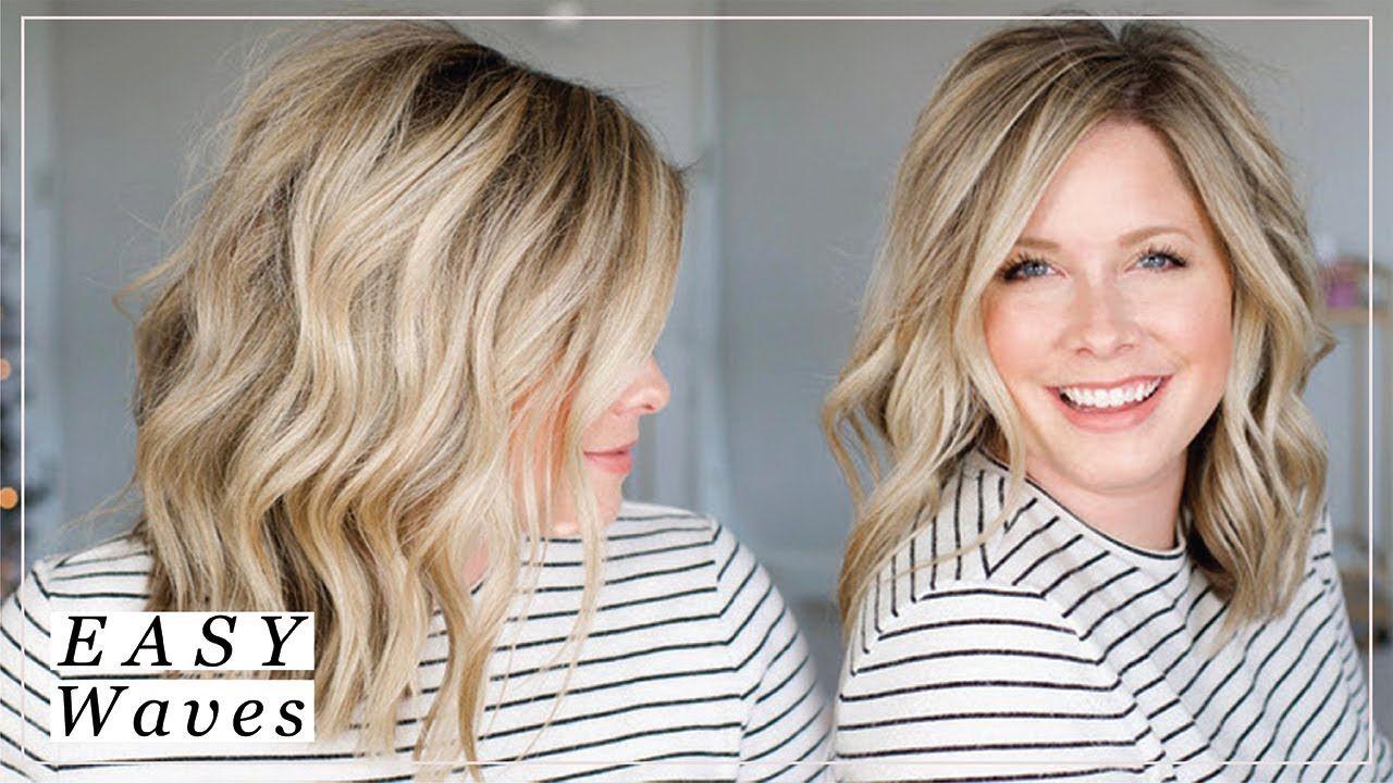 My Easy Waves Youtube Easy Waves Hair Loose Waves Hair