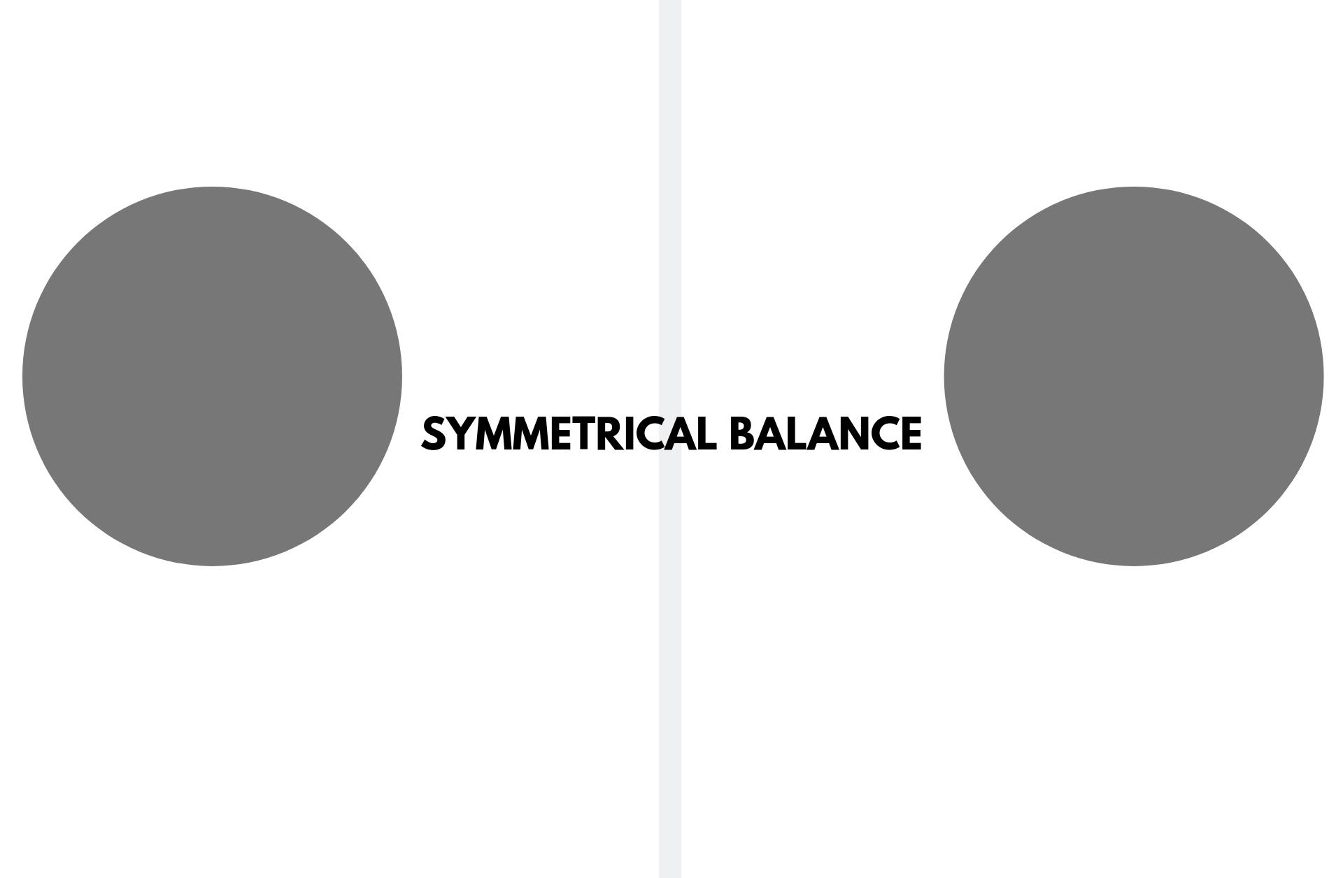 Symmetrical Balance In Graphic Design Graphic Design Careers Symmetrical Balance Graphic Design