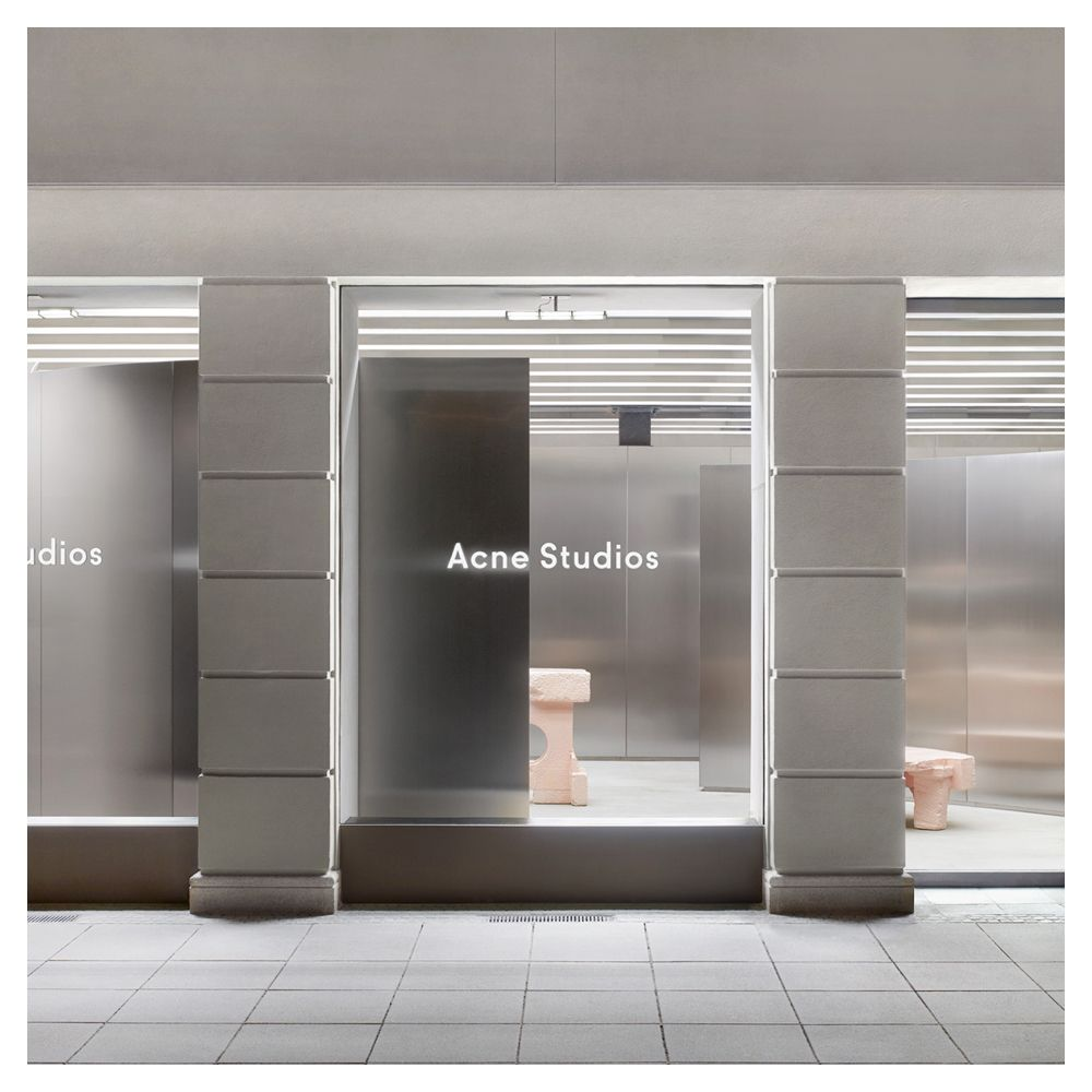 acne studios munich store design pinterest. Black Bedroom Furniture Sets. Home Design Ideas