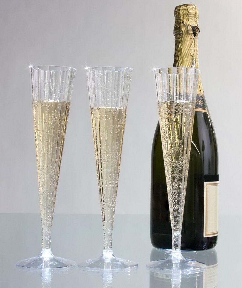 S Champagne Glasses Plastic