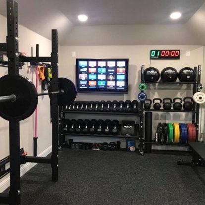 30 Best Home Gym Ideas Gym Equipment On A Budget Gym Room At Home Home Gym Basement Home Gym Decor