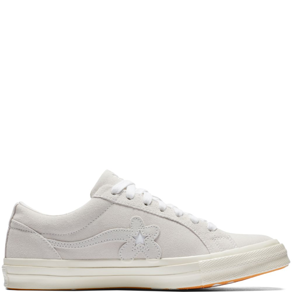 b9dfa3994cf Converse x GOLF le FLEUR  One Star White Egret White