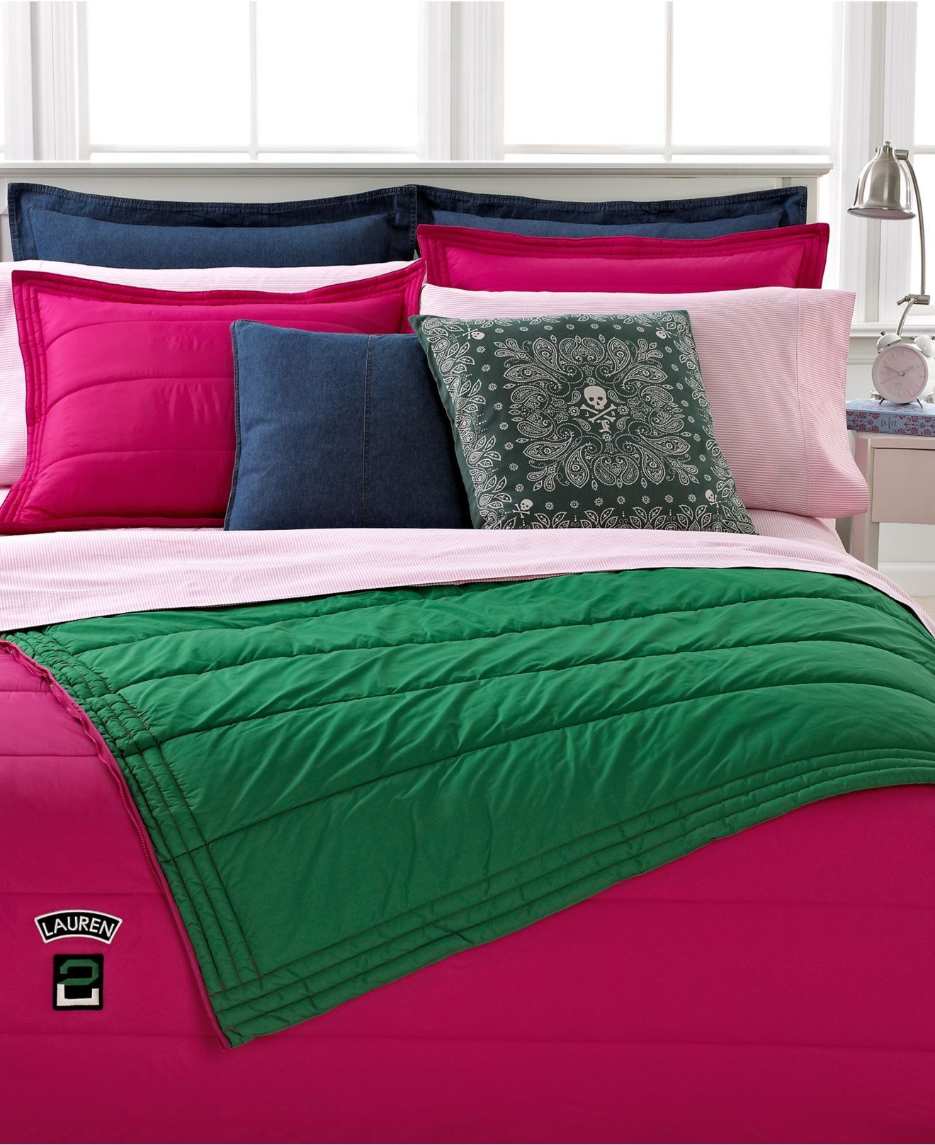 Lauren By Ralph Lauren Bedding University Girl Tate Collection