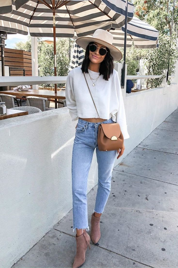 10 Trendy Ways To Style A White Shirt - Daily Sweetness #basics #outfitideas #springstyle