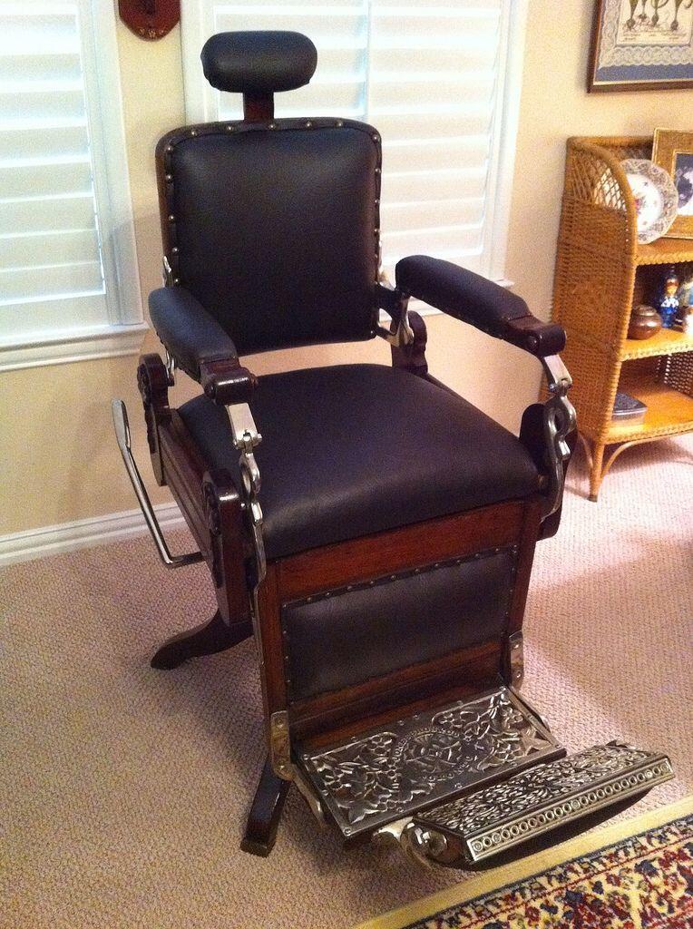 Antique Barber Chair 1901 Barber Chair Barber Chair For Sale