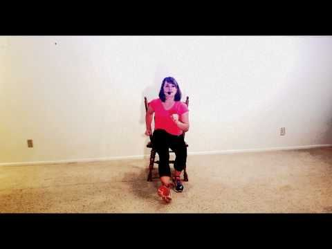 Latin Zumba Inspired Chair Exercise Fitness Workout 1 Multiple Sclerosis Ms Video 5 Chair Exercises Seated Exercises Exercise