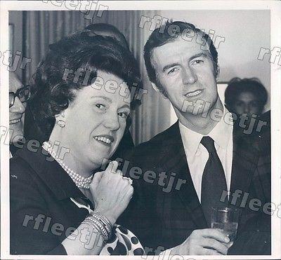 1969 Chicago IL Pete Rall, Carol Fox Lyric Opera GM Press Photo rkf10321