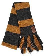 Harry Potter FANTASTIC BEASTS Newt Scamander HUFFLEPUFF Knit Scarf Costume