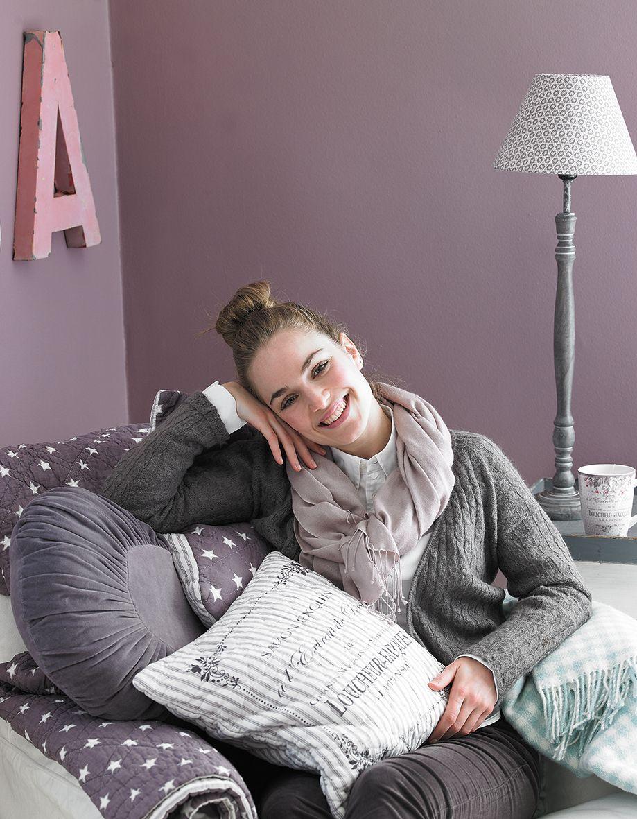 decke gesteppt mit sternen star mauve von greengate greengate pinterest mauve. Black Bedroom Furniture Sets. Home Design Ideas