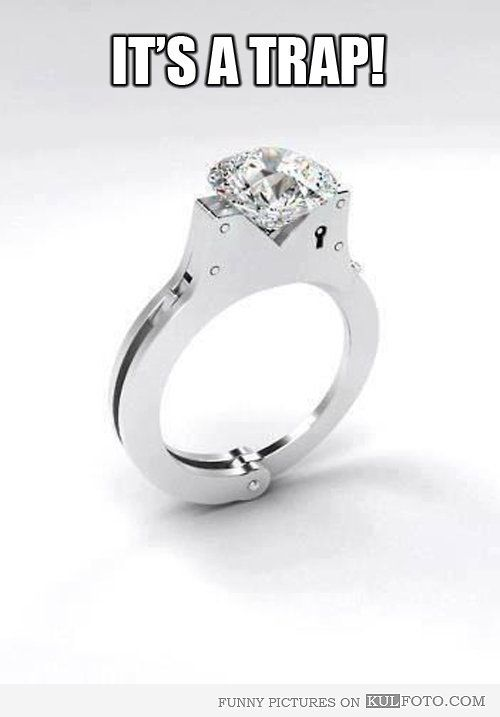 bc4c961f4f6af handcuff engagement ring | Handcuffs engagement ring - Funny ...