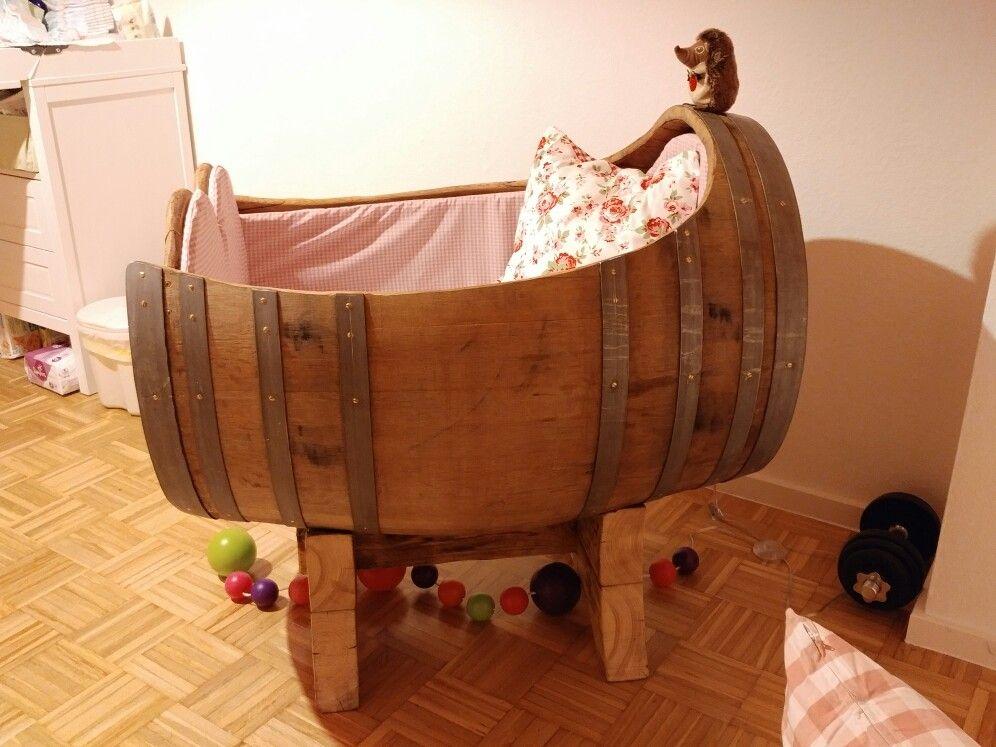 Kinderbett baggerbett  Babybett Kinderbett Weinfass Fass | Babybett | Pinterest ...