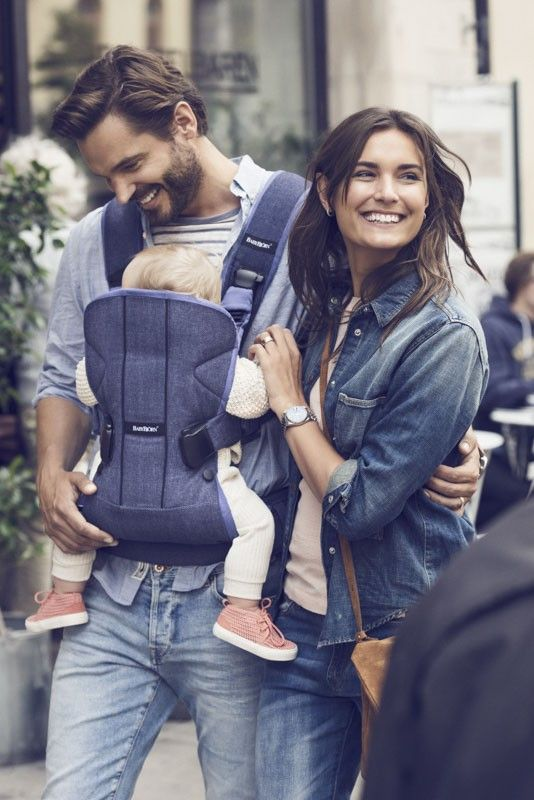 f183bff24c2 Baby Bjorn One Carrier Cotton Mix Denim - Blue - Carriers