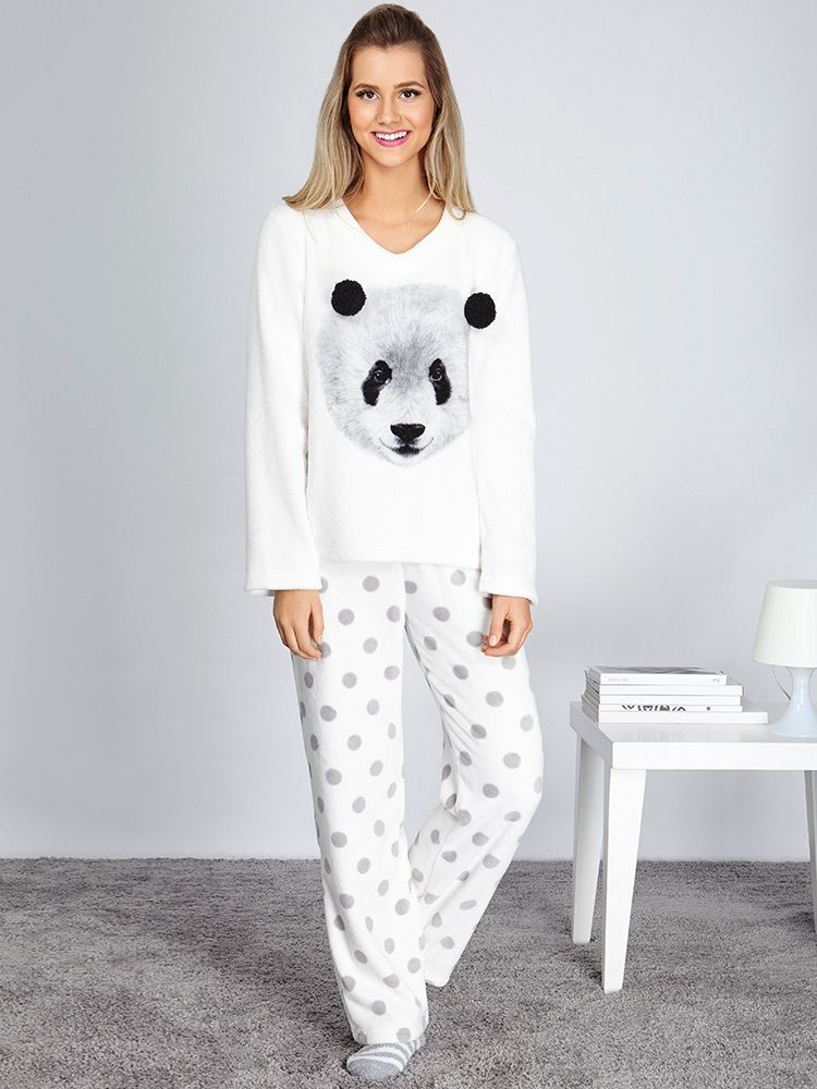 7ba9a4f98 Pijama Panda Pompom - Soft - anyany