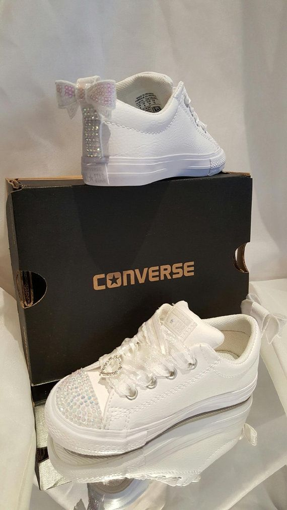 dabf70988915 BLING White Converse