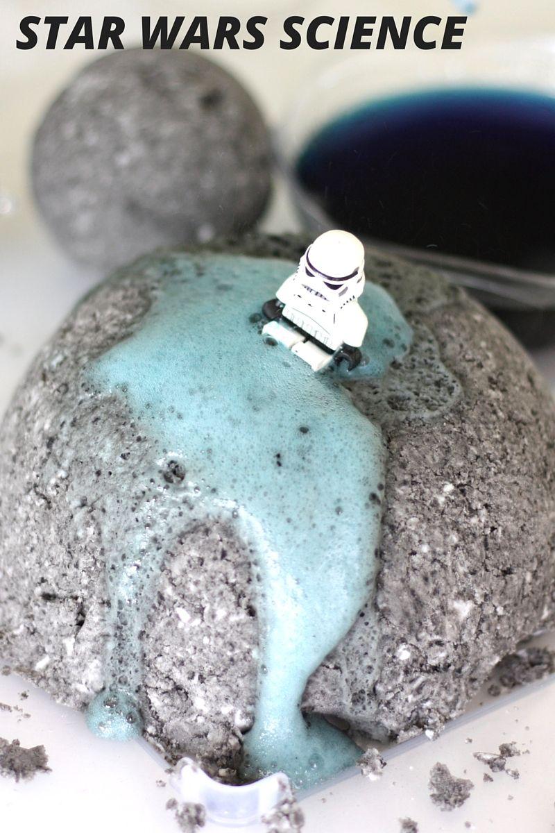 Star Wars Science Activity Erupting Death Star   Death star, Kitchen ...