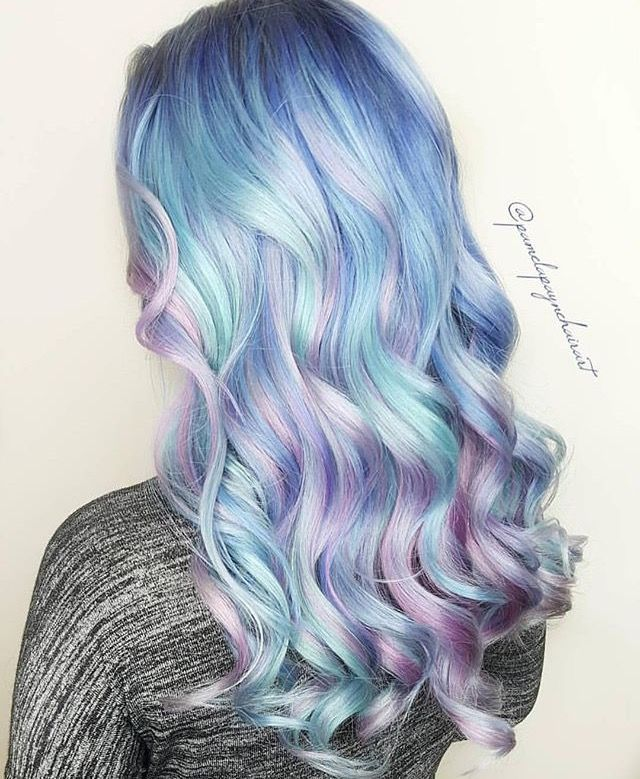 Photo of 25 Mesmerizing Mermaid Hair Color Ideas