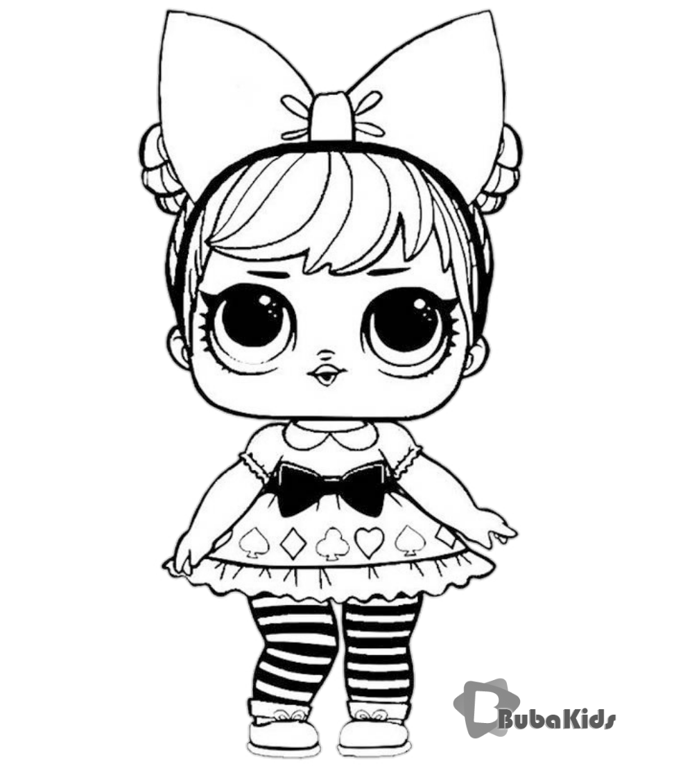 Lol Surprise Doll Coloring Pages for printing and coloring ...