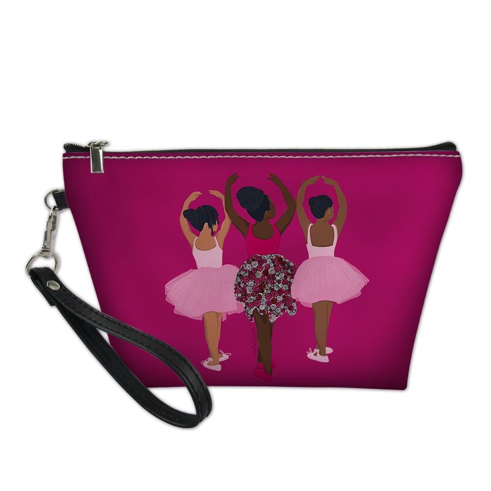 3 sistas – Makeup Wristlet Bag