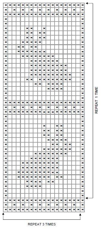 WR1639-Filet-Crochet-Bunny-Blanket-Chart #filetcrochet