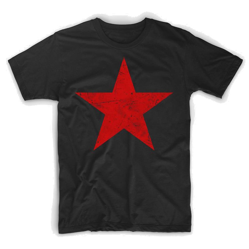Red Star Ussr Classic Vintage Flag Roundel Premium T Shirt By Quark Red Star Vintage Flag Shirts