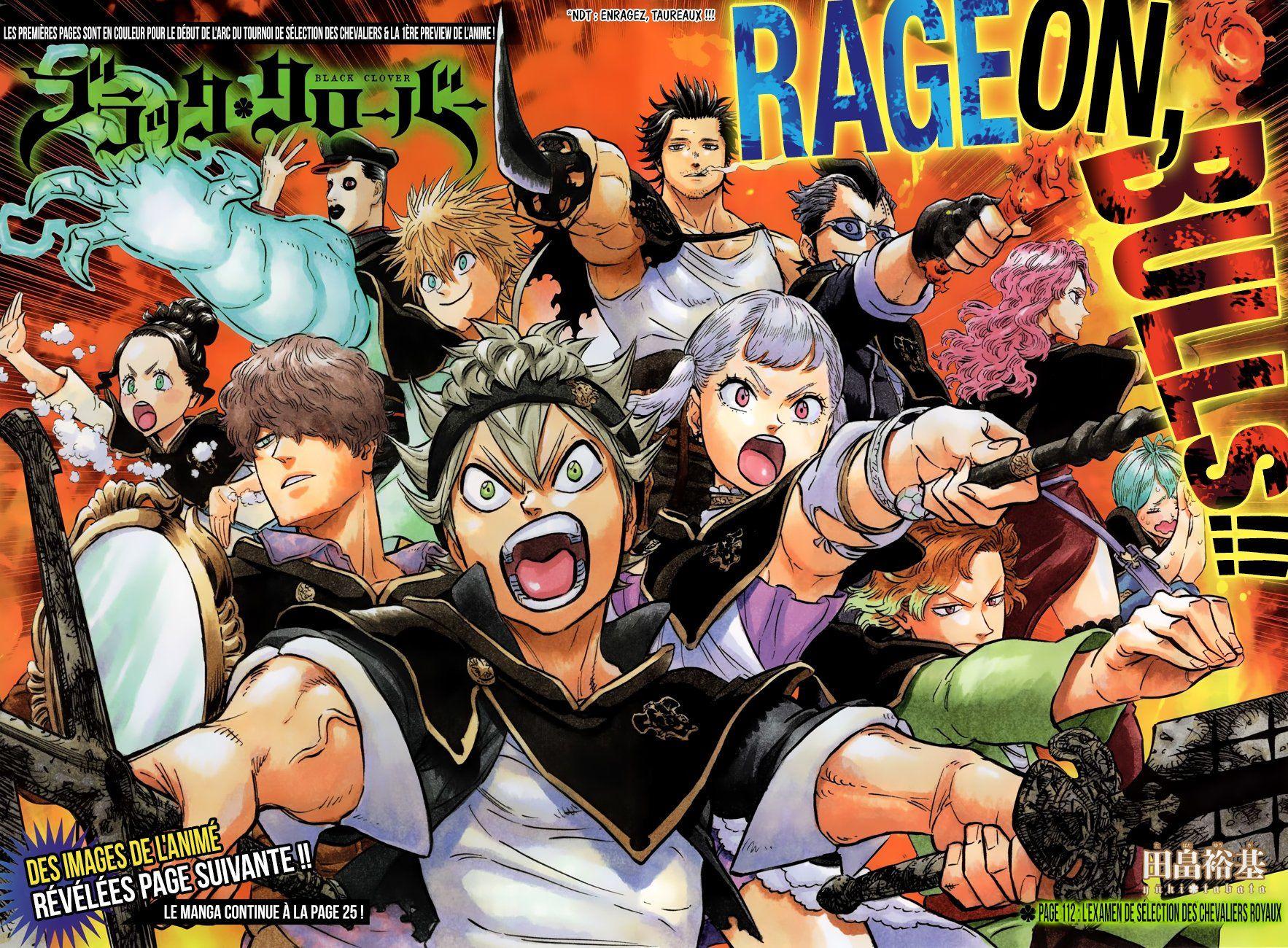 Black Clover Página 5 Finaliza el Examen Anime, Clover