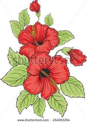 Flowers Vector Illustration Silhouette 31 Ideas Flowers Com Imagens Desenhos De Flores Pintura Em Tecido Bonecas Riscos Para Pintura