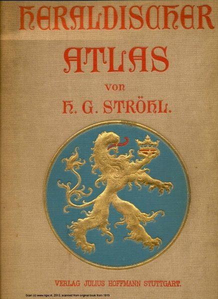Künstler Stuttgart heraldischer atlas eine sammlung heraldischen musterblättern