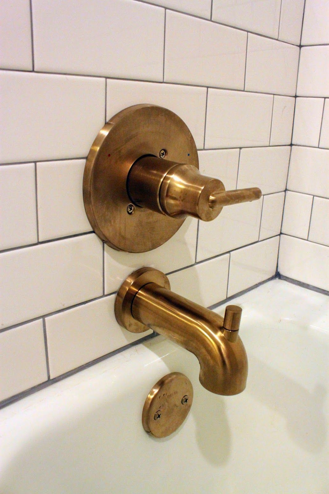 The Styled Life Bathroom Progress The Reveal Bronze Bathroom Fixtures Bronze Bathroom Faucets Bronze Bathroom