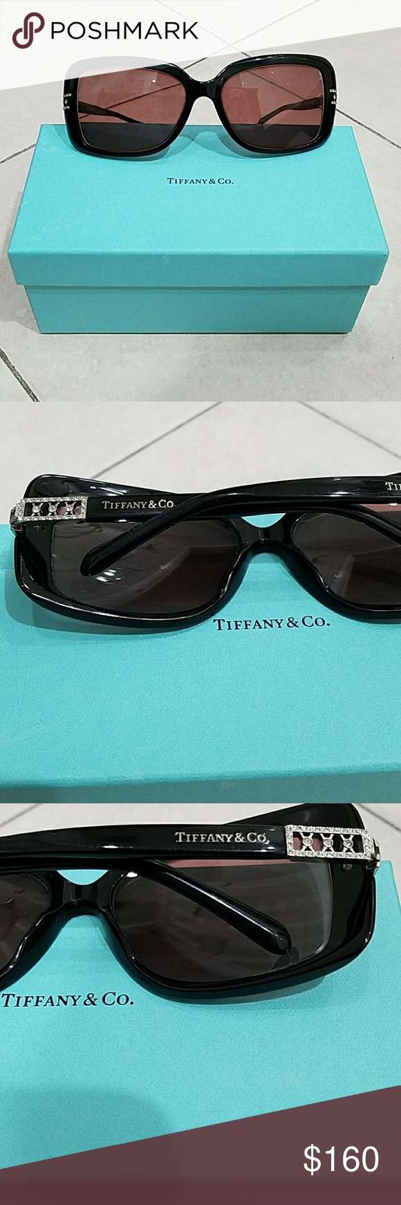 1da6800c75e1 I just added this listing on Poshmark  Tiffany   Co sunglasses and box with  certicate
