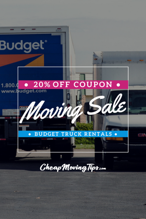 Use The Coupon On This Page To Get 20 Off Your Entire Order With Budget Truck Moving Truck Rentals Thanks To Cheap Moving Budget Moving Truck Rental Budgeting