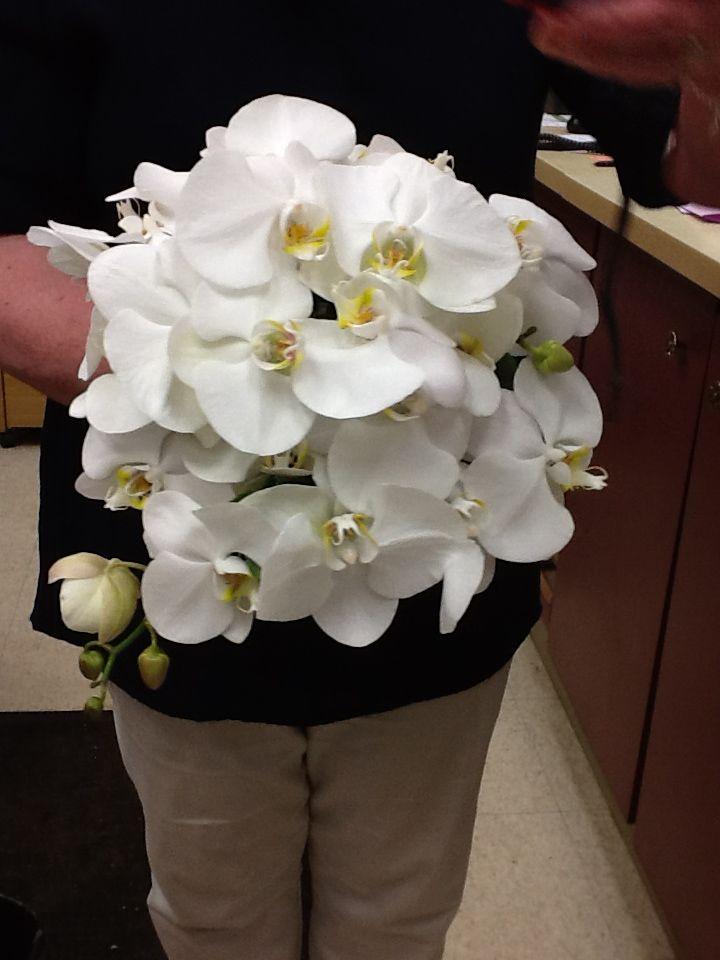 Orchid Brides Bouquet