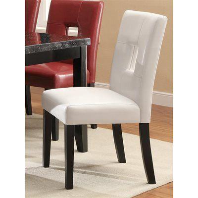 Coaster Fine Furniture Dining Chair 103612 Newbridge Keyhole Set
