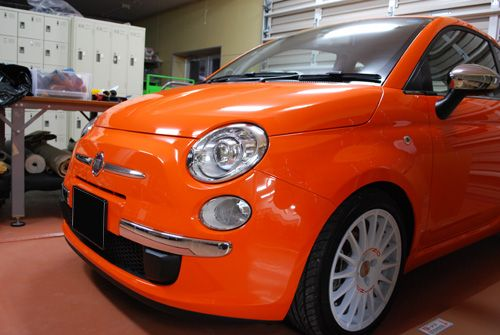 Fiat 500 Arancia Edition Japan Release Only Fiat 500 Special