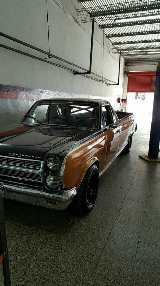 1965 Amc Ambassador Pick Up American Motors Concept Cars Custom Cars