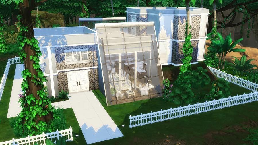 sims house build on instagram selvadorada modern house