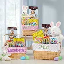 All In One Girls Easter Basket starting at $39.99 @ personalcreations.com