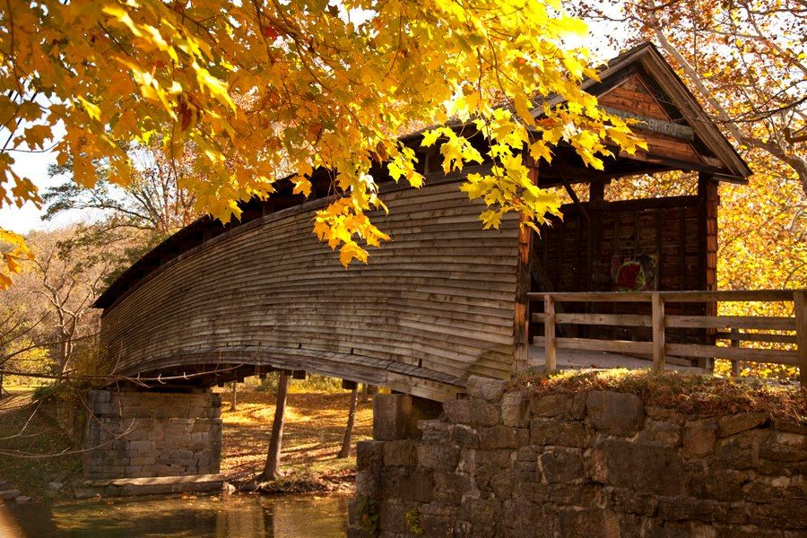 Kissing Bridge Vermont Built in 1857, H...