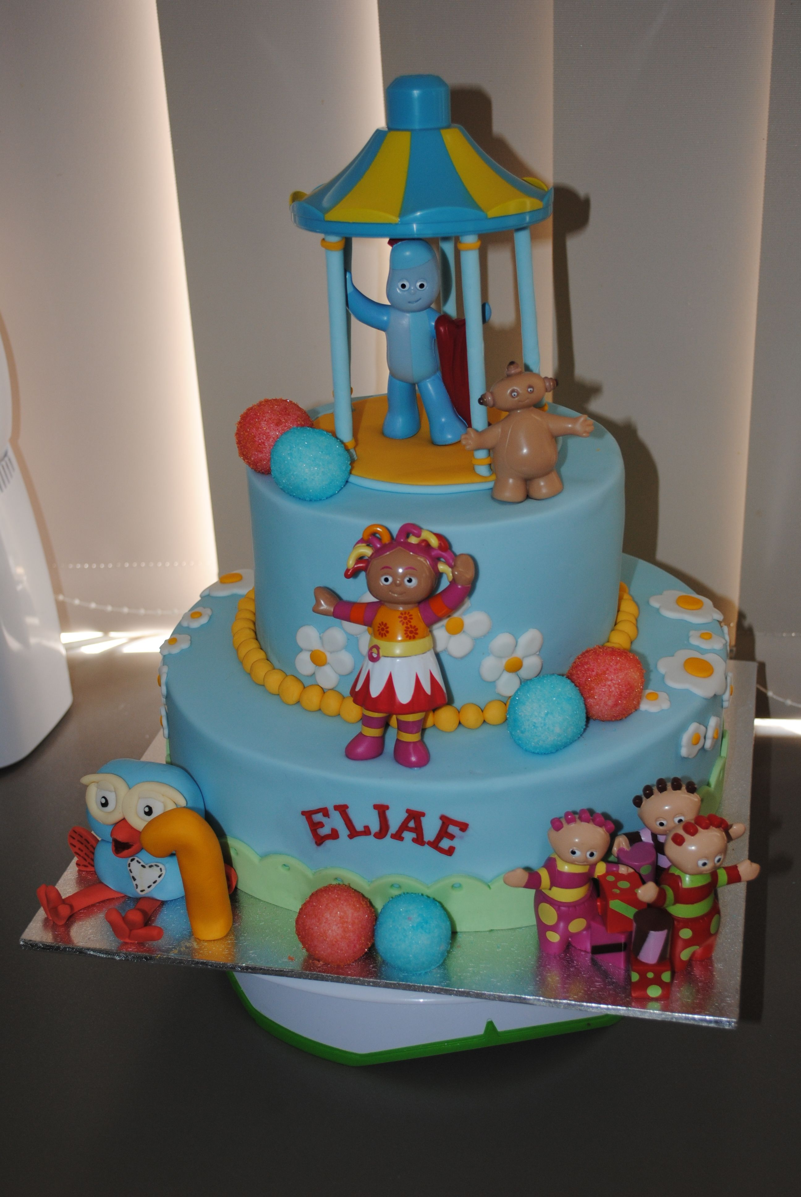 In the night garden cake | Cakes I have made | Garden ...