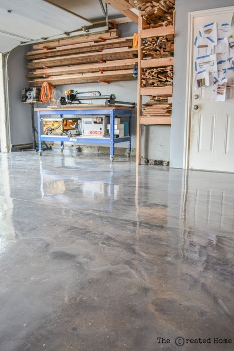 Diy Garage Upgrade With Rust Oleum Rock Solid Garage Floor Paint