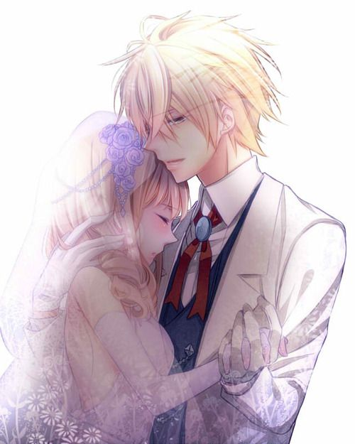 Most popular tags for this image include: anime, couple, wedding and anime  couple