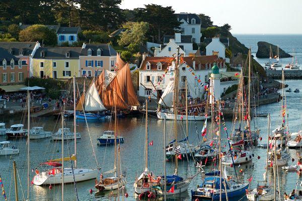 Belle Ile Sauzon Belle Ile En Mer Bretagne Paysage Vacances