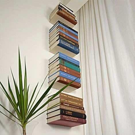 repisa flotante para libros minimalista repisa magica h4012
