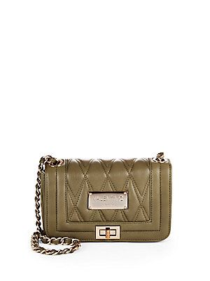 Valentino by Mario Valentino Beatriz Quilted Leather Crossbody Bag - A