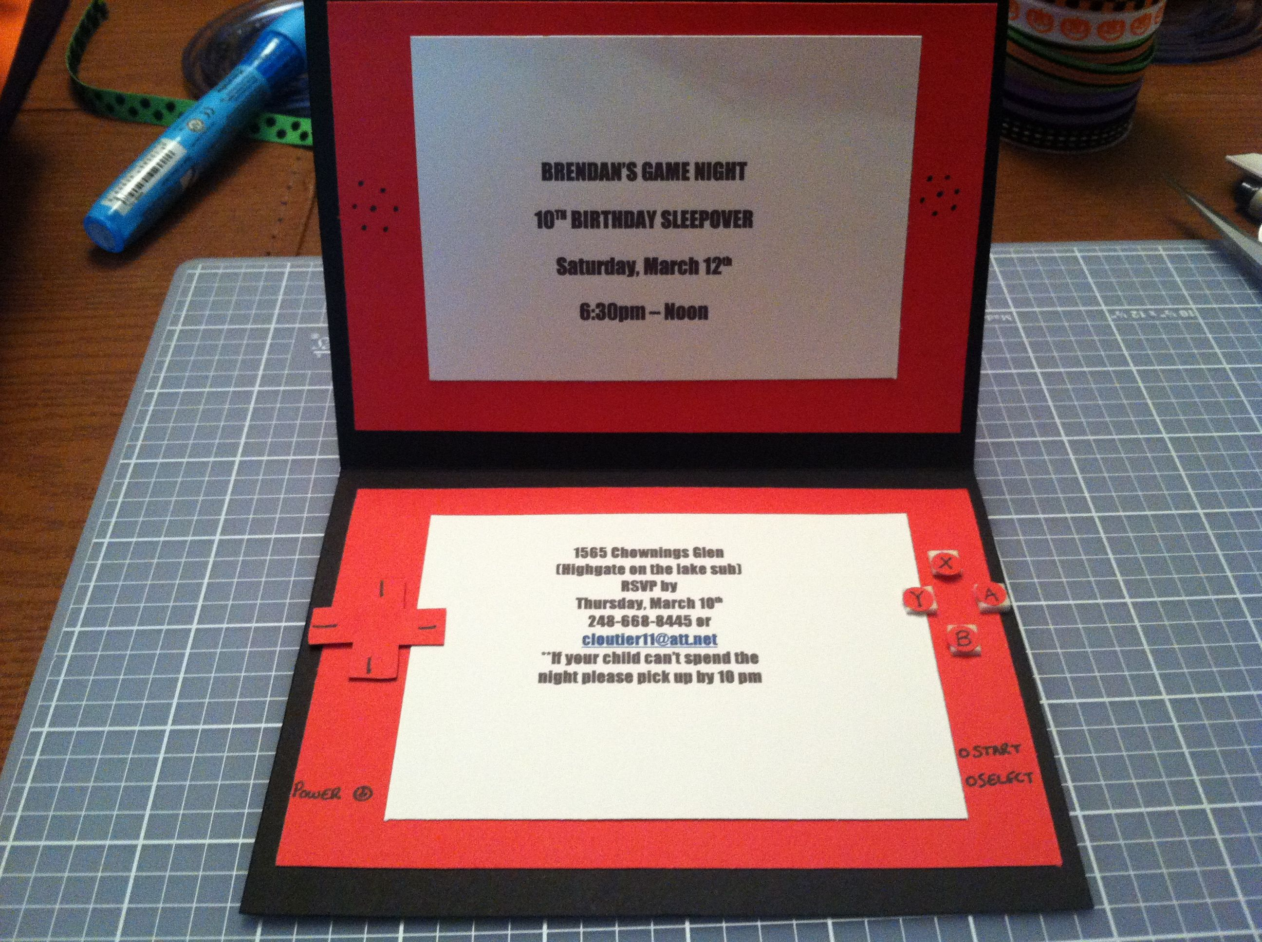 Video Game Party | Invitations by Low | Pinterest | Video game party