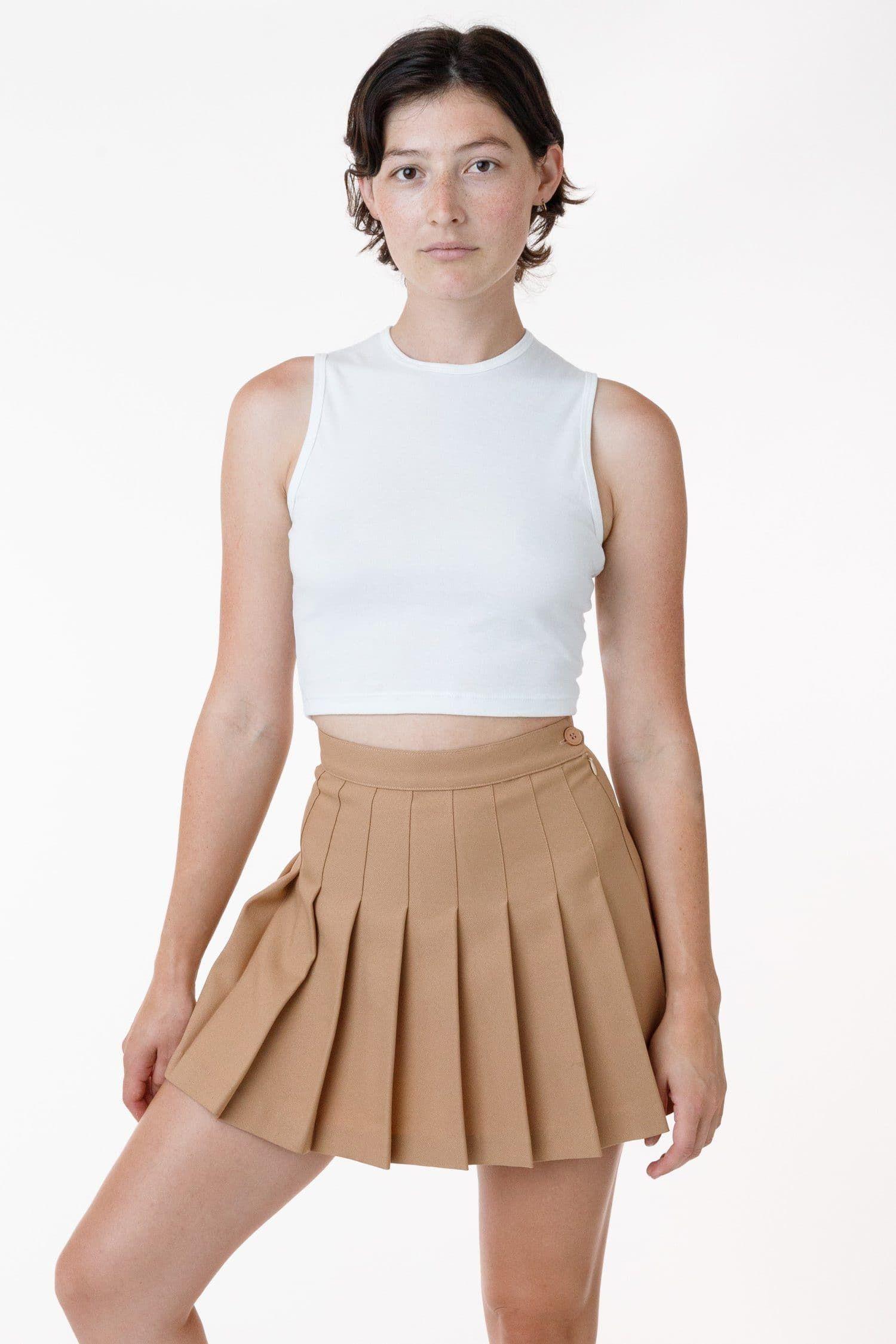RGB300 - Tennis Skirt (Classic Colors) - Khaki / S